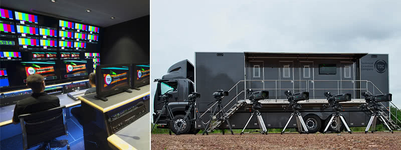 Racing New South Wales OB Truck